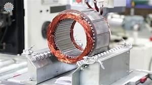 Electrical Motor Stator Coil Wire Middle Forming And
