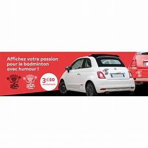 Autocollant Personnalisé Pour Voiture : autocollant pour voiture badminton ~ Voncanada.com Idées de Décoration