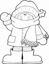 Coloring Winter Pages Season Crafts Hello Snowman Preschool Sheets Christmas Clothes Kindergarten Activities Worksheets Craft Seasons Preschoolactivities Books Da Eskimo sketch template
