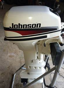 9 9hp Extra Johnson Long Shaft Outboard Boat Motor For Sale