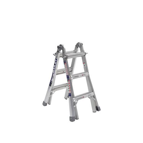 aluminium ladder bunnings bailey 1 7 3 3m 135kg aluminium multi purpose ladder