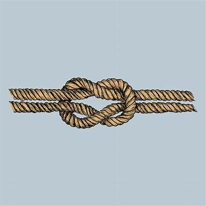 Knot Square Drawn Hand Vector Eagle Scout