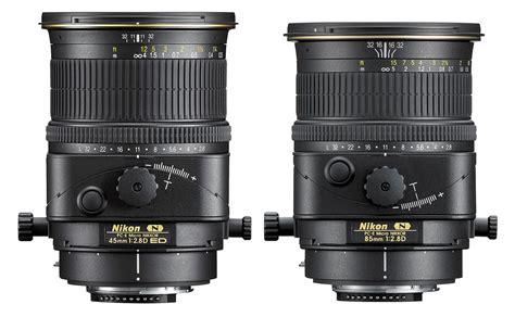 Nikon Pc-e Micro 45 Mm And 85 Mm Lenses