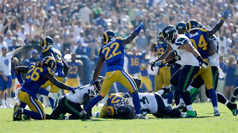 rams upset seahawks  zuerleins leg  nfls return