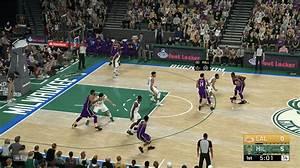 NBA 2K19 Gameplay Videos Bucks Vs Lakers Warriors Vs