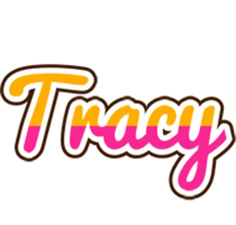 home design gold tracy logo create custom tracy logo smoothie style