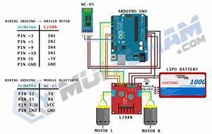 Membuat Mobil Remote Control Dengan Arduino   Rc Car Control With Bluetooth