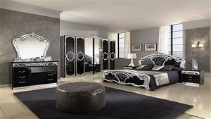 Antique looking bedroom furniture black furniture bedroom for Black bedroom furniture decorating ideas 2