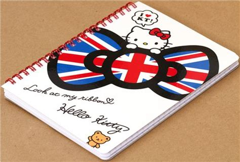 hello notizbuch hello mit englischer schleife ringbuch notizbuch notizbl 246 cke schreibwaren kawaii