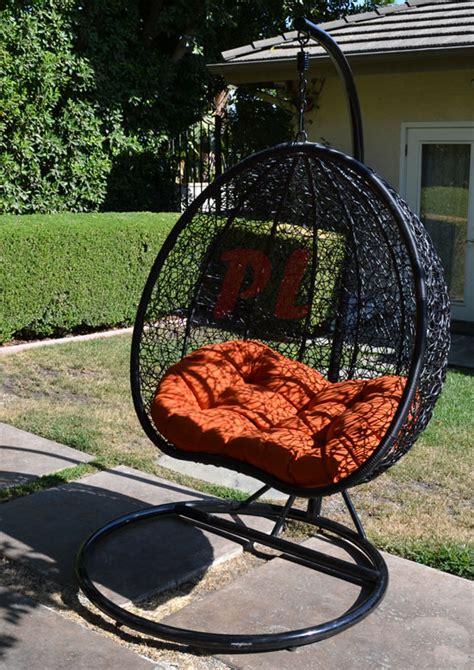 Rattan Hammock Chair by Egg Shape Wicker Rattan Swing Chair Hanging Hammock 2