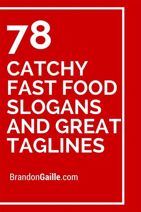 25 best ideas about fast food slogans on fast