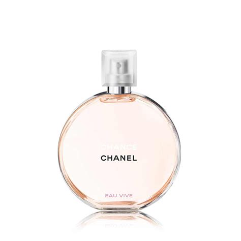 chance eau de toilette spray chanel chance eau vive eau de toilette spray 50ml feelunique