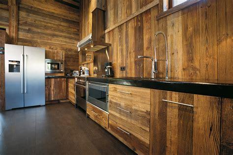 cuisine bois moderne cuisine moderne vieux bois wraste com