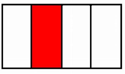 Fraction Rectangle Clipart Fractions Clip Cliparts Square