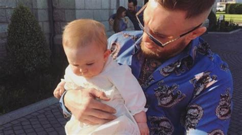 dee devlin and conor mcgregor share sweet family snaps of nephew s christening ie