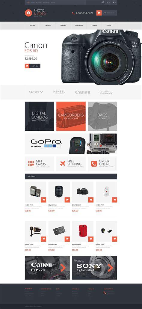la mejor tienda template drupal plantilla opencart 52931 para sitio de tienda de video