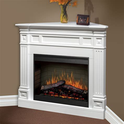 electric corner fireplace dimplex traditional corner ii electric fireplace at hayneedle