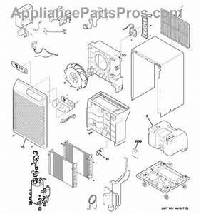 Parts For Ge Ahg40lfm1  Dehumidifier Parts