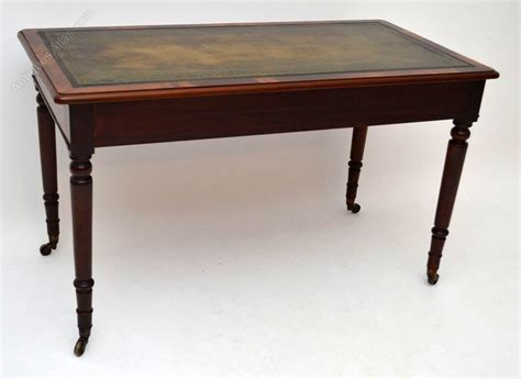 antique leather top desk antique mahogany leather top writing table desk antiques