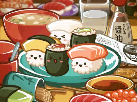 animation cuisine food kawaii animation