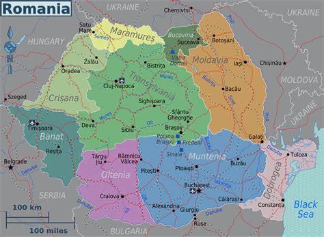 maps  romania map library maps   world