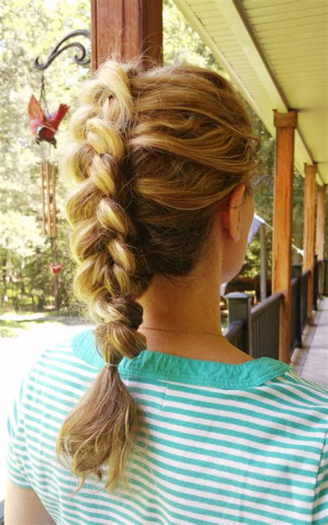 creative mohawk braid hairstyle ideas