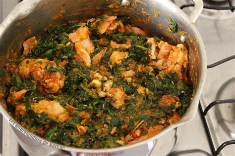 recette de cuisine beninoise la sauce feuille de ma mère ma version simplifiée