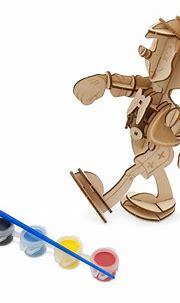 Pinocchio 3D Wood Model and Paint Set – Disney Ink & Paint ...