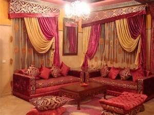 Rideaux Salon Pas Cher : salons marocains 2012 2013 salon marocain moderne ~ Teatrodelosmanantiales.com Idées de Décoration