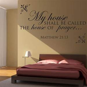 matthew 2113 scripture wall decal divine walls With biblical wall decals ideas