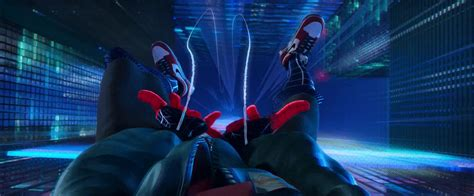 nike air jordan sneakers worn  miles morales  spider
