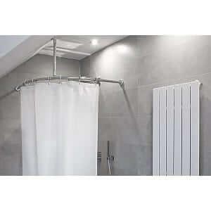 Duschvorhang Um Die Ecke by Wunderbare Duschvorhang Um Die Ecke Im Zusammenhang Mit