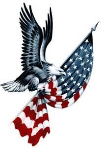 Eagle American Flag Clip Art