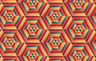 illustration design how to create a blended hexagonal print design in adobe illustrator