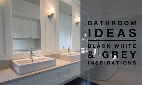 black and grey bathroom ideas grey black bathroom crowdbuild for
