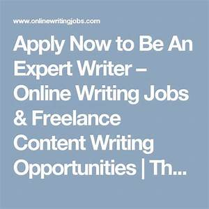 creative writing jobs from home