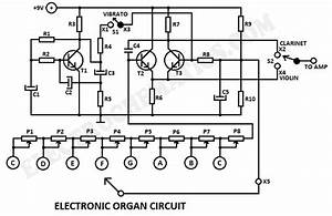 Circuit Diagram Electronic Organ