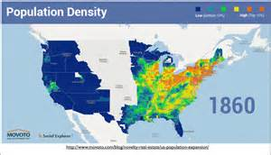 2016 United States Population Density Map