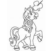 Unicorn Patrick Coloring Pages & Book