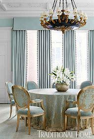 Curtain Dining Idea Room