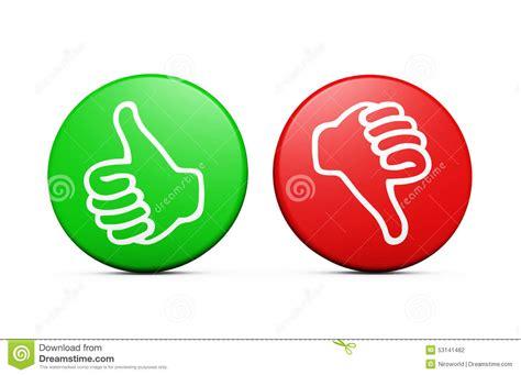 Positive Negative Customer Feedback Buttons Stock