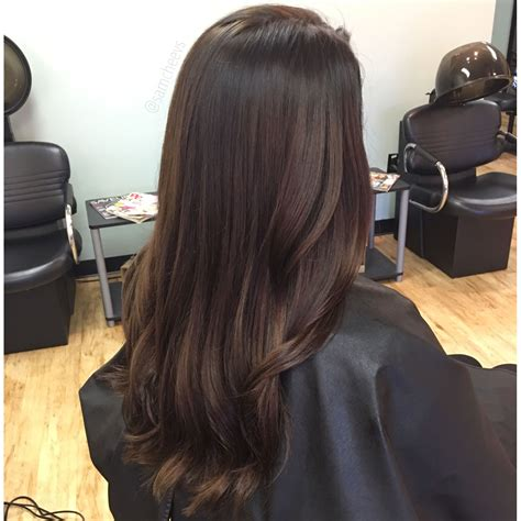 Espresso Brown Hair Color by Caramel Highlights For Hair Espresso Brown