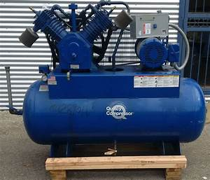 Lot  40  Quincy 15hp Air Compressor Qt