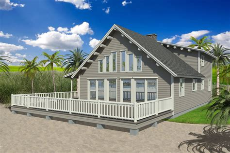 17 Harmonious Beach House Small  Architecture Plans 810