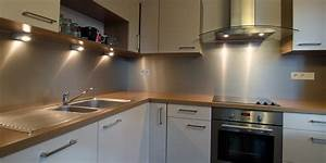 credence de cuisine autocollante maison design bahbecom With credence de cuisine autocollante