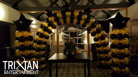 balloon arch trixtan entertainment