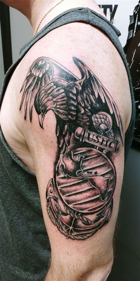 latest marines tattoos find marines tattoos