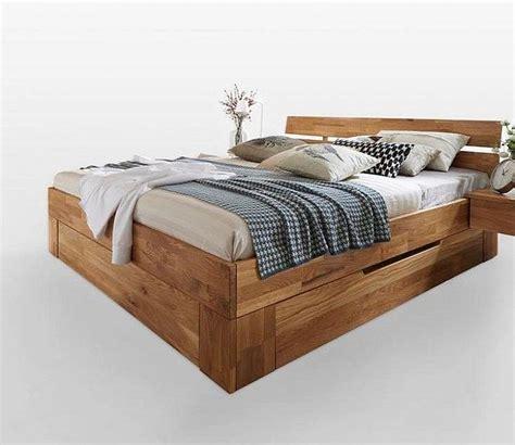 Bett 140x200 Schubladen by Schubladenbett 140x200 Mit 2 Schubladen Futon Bett Holz