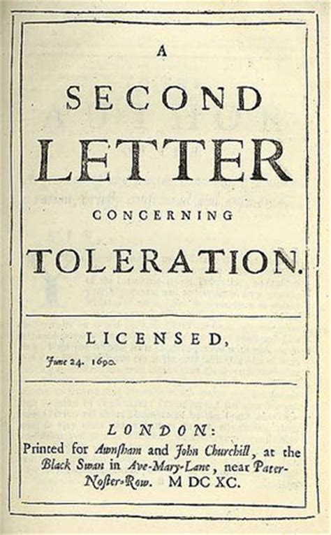 locke letter concerning toleration locke on toleration by eric mack library of liberty