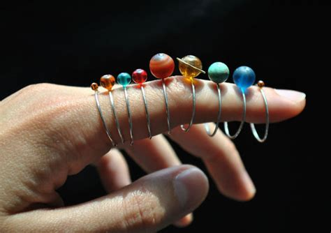 youre gonna   set  stackable solar system rings